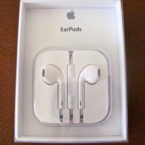 EarPods in Case